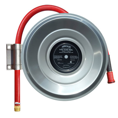 Hercules Stainless Steel 25mm Hose Reel Swing Type