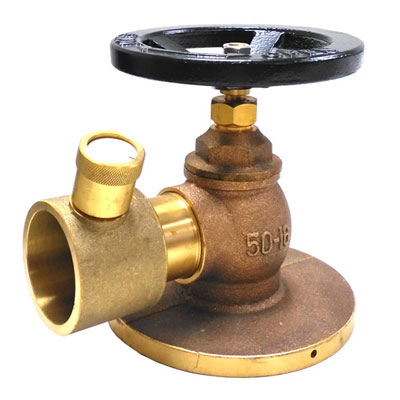 Hercules 90 Degree Flanged Fire Hydrant BS
