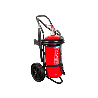 Hercules 25KG ABC Trolley Stored Pressure