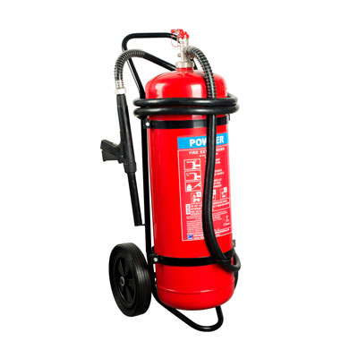 Hercules 50KG ABC Trolley Stored Pressure
