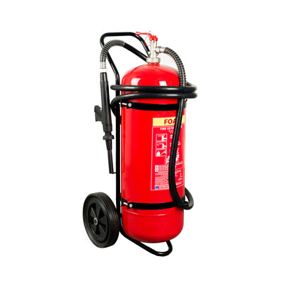 Hercules 50L Foam Trolley Stored Pressure