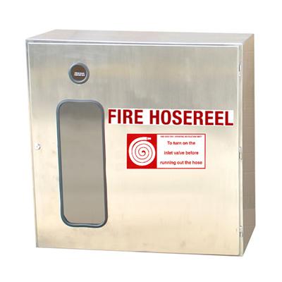 Hercules Stainless-Steel-Hose-Reel-Cabinet