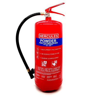 Hercules 12KG ABC Dry Powder Fire Extinguisher