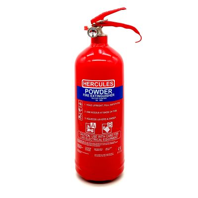 Hercules 1KG ABC Dry Powder Fire Extinguisher