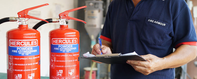 Service Fire Extinguishers Singapore