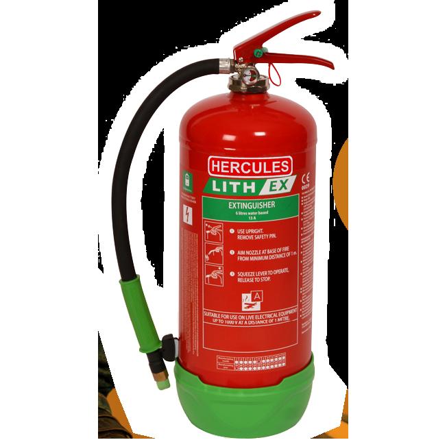 Hercules-Lithium-Ex-Fire-Extinguisiher