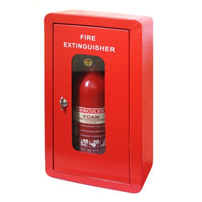 Fire-Extinguisher-Steel-Cabinet-Child-Safe