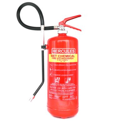 Hercules 6l Wet Chemical fire extinguisher